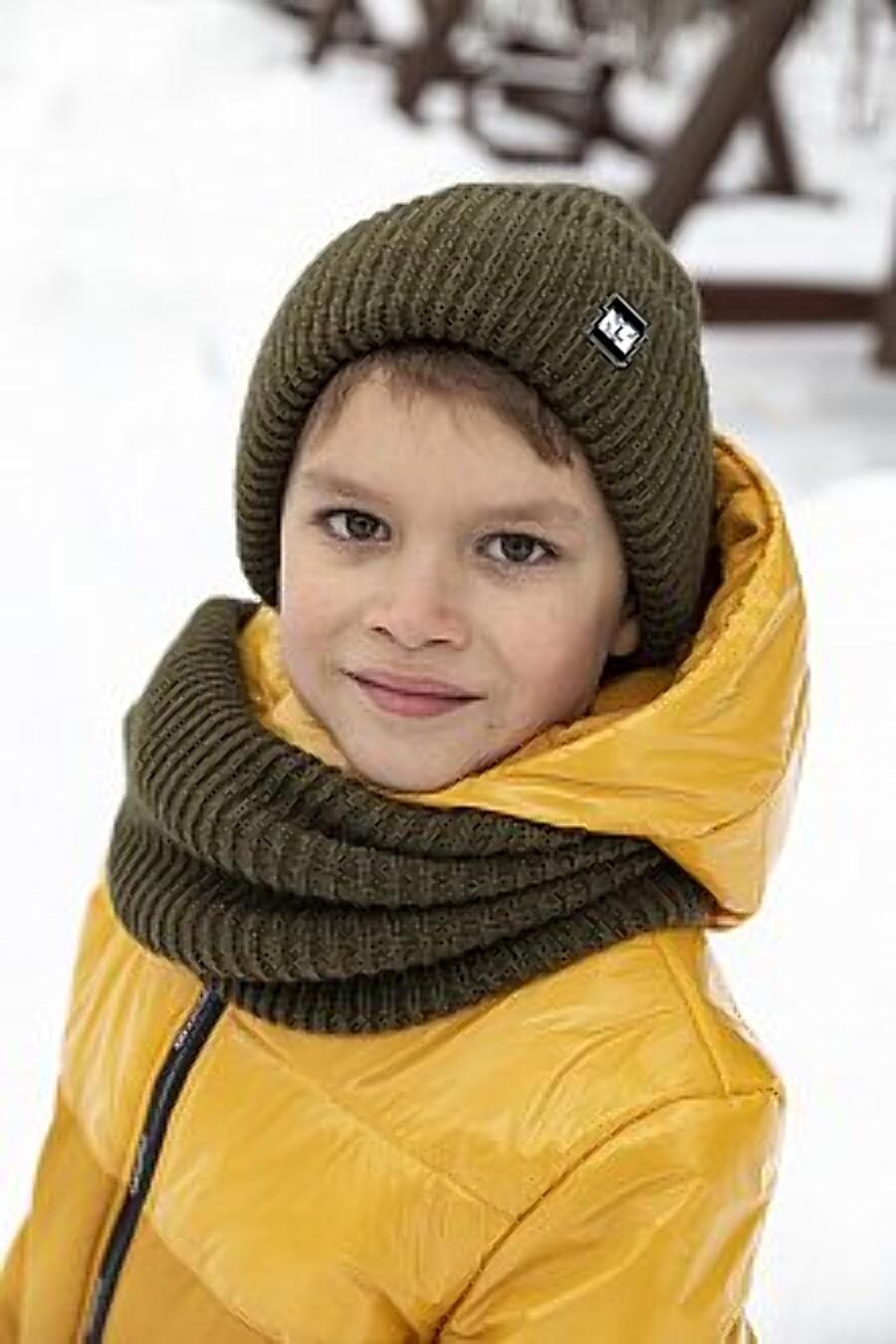 Комплект шапка и снуд 12з14721 хаки NIKASTYLE (289136), купить в Moyo.moda