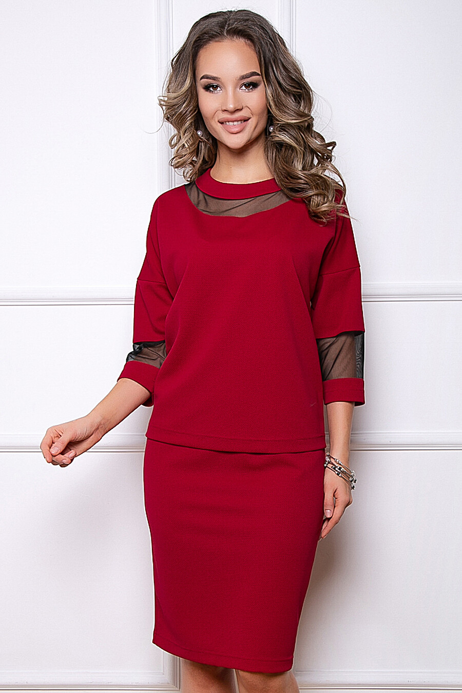 КОСТЮМ ПУЛЬСАНО (БОРДО) BELLOVERA (289733), купить в Moyo.moda