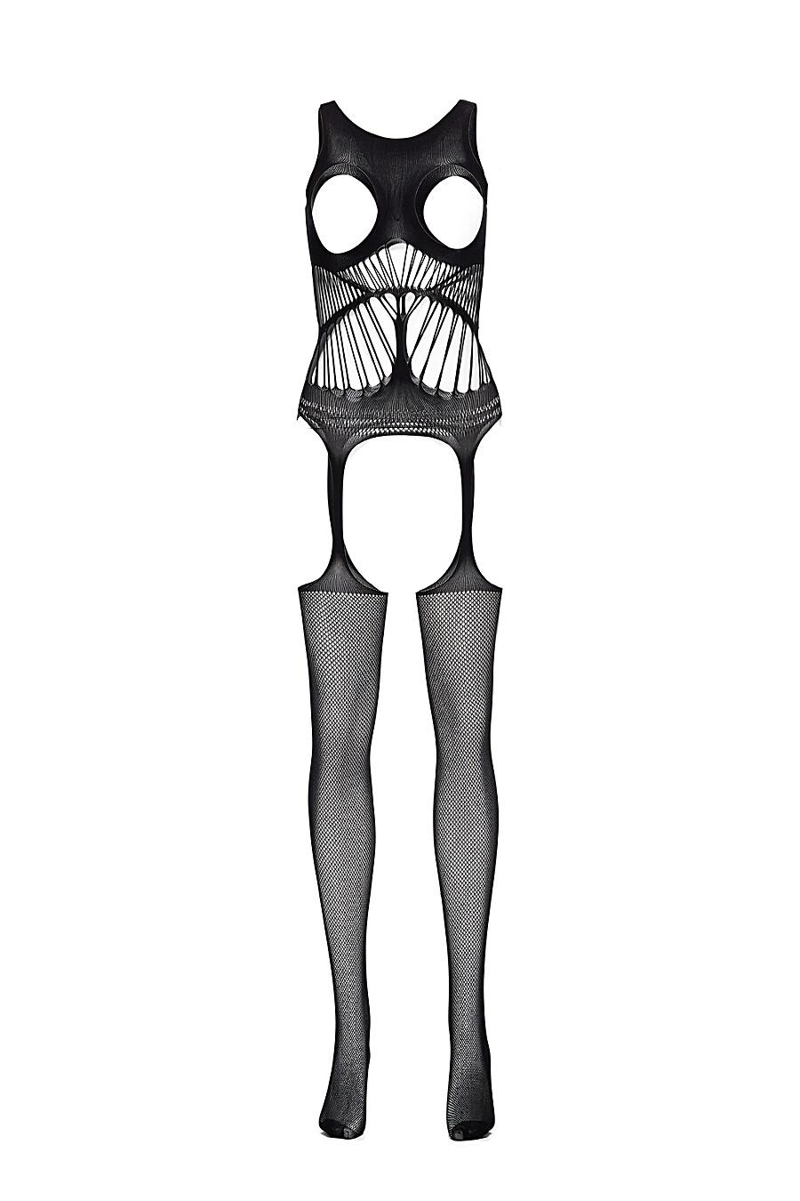 """Эротический комбинезон с открытой интимной зоной """"Неприкаянные сердца"""" LE CABARET (307849), купить в Moyo.moda"""