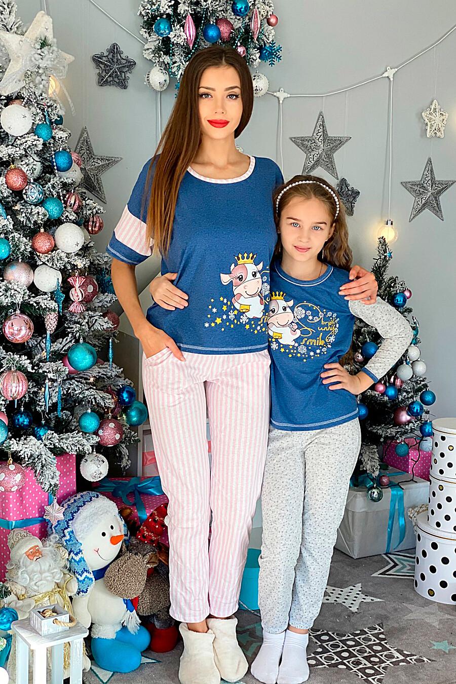 Пижама 5082 детская для девочек НАТАЛИ 321658 купить оптом от производителя. Совместная покупка детской одежды в OptMoyo