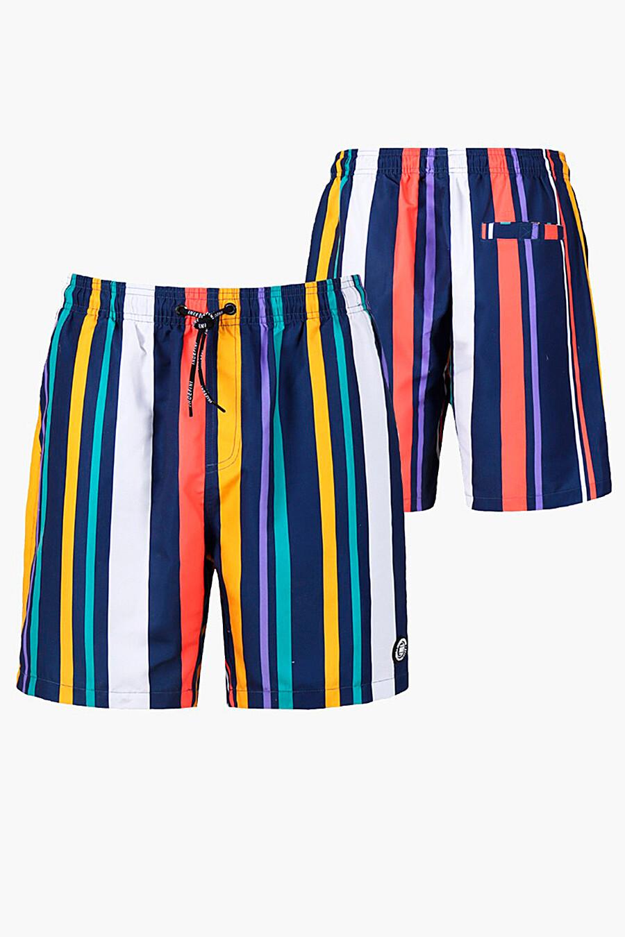 Шорты для мужчин INDEFINI 321782 купить оптом от производителя. Совместная покупка мужской одежды в OptMoyo