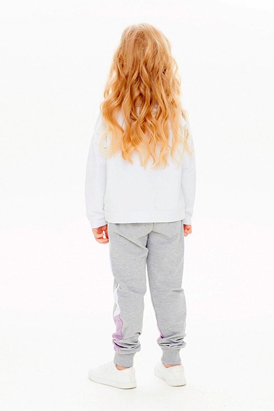 Брюки для девочек UMKA 321819 купить оптом от производителя. Совместная покупка детской одежды в OptMoyo