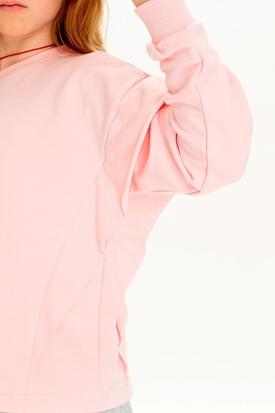 Толстовка для девочек UMKA 321824 купить оптом от производителя. Совместная покупка детской одежды в OptMoyo