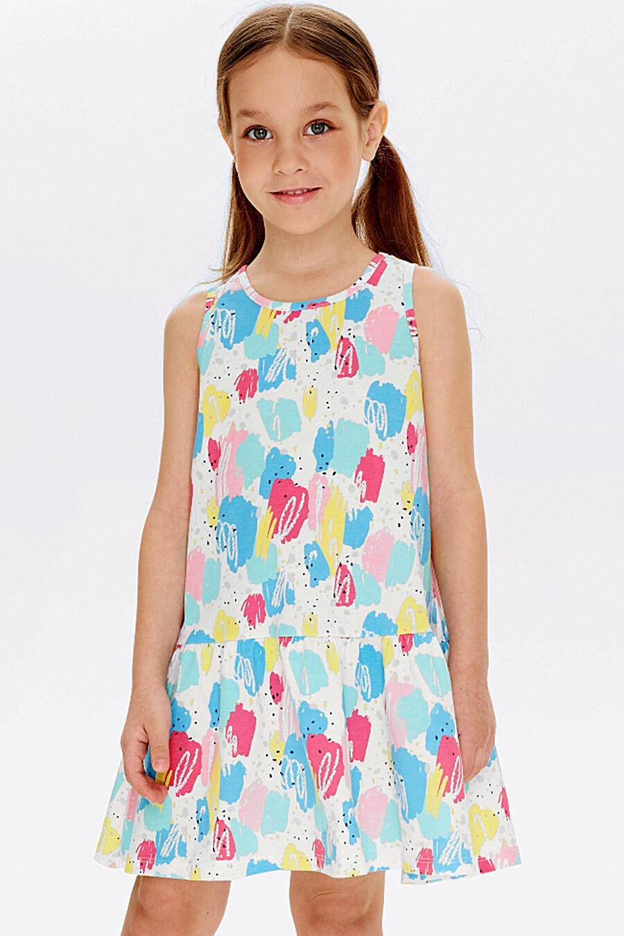 Сарафан для девочек UMKA 321834 купить оптом от производителя. Совместная покупка детской одежды в OptMoyo