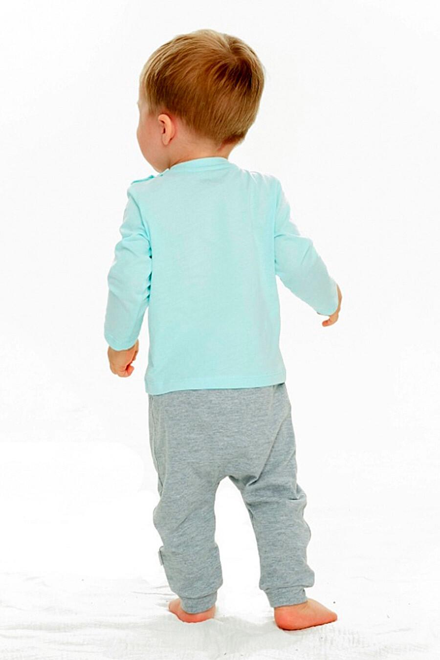 Лонгслив  для мальчиков UMKA 321865 купить оптом от производителя. Совместная покупка детской одежды в OptMoyo