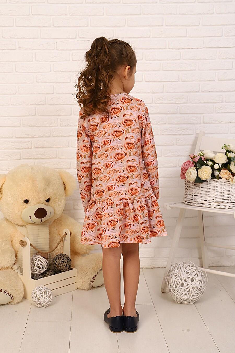 Платье Бутон детское для девочек НАТАЛИ 334789 купить оптом от производителя. Совместная покупка детской одежды в OptMoyo