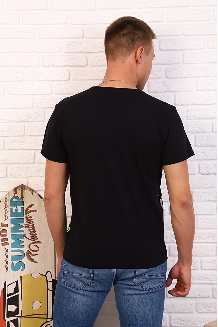 Футболка 34503 для мужчин НАТАЛИ 334802 купить оптом от производителя. Совместная покупка мужской одежды в OptMoyo