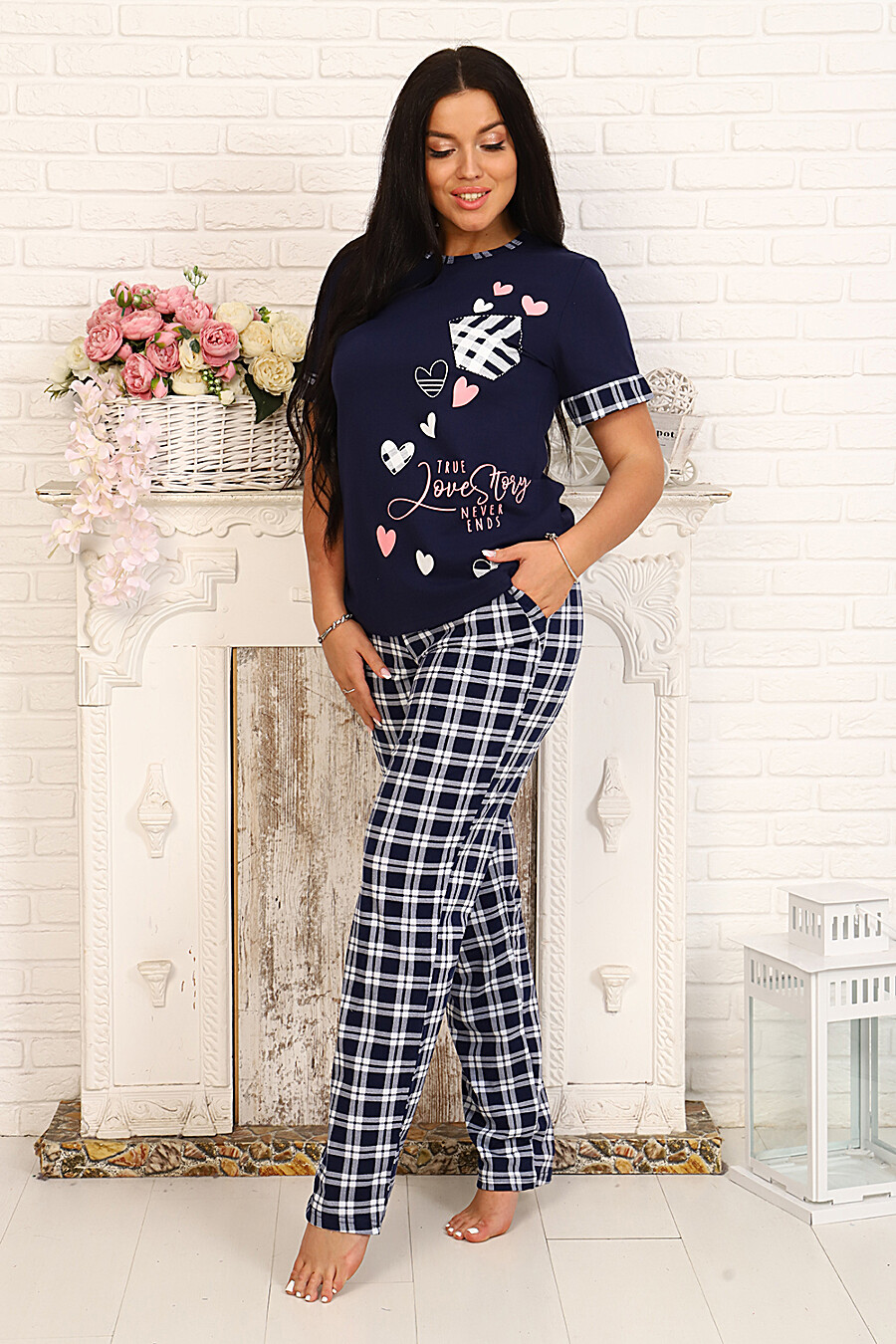 Костюм 10013 для женщин НАТАЛИ 334807 купить оптом от производителя. Совместная покупка женской одежды в OptMoyo