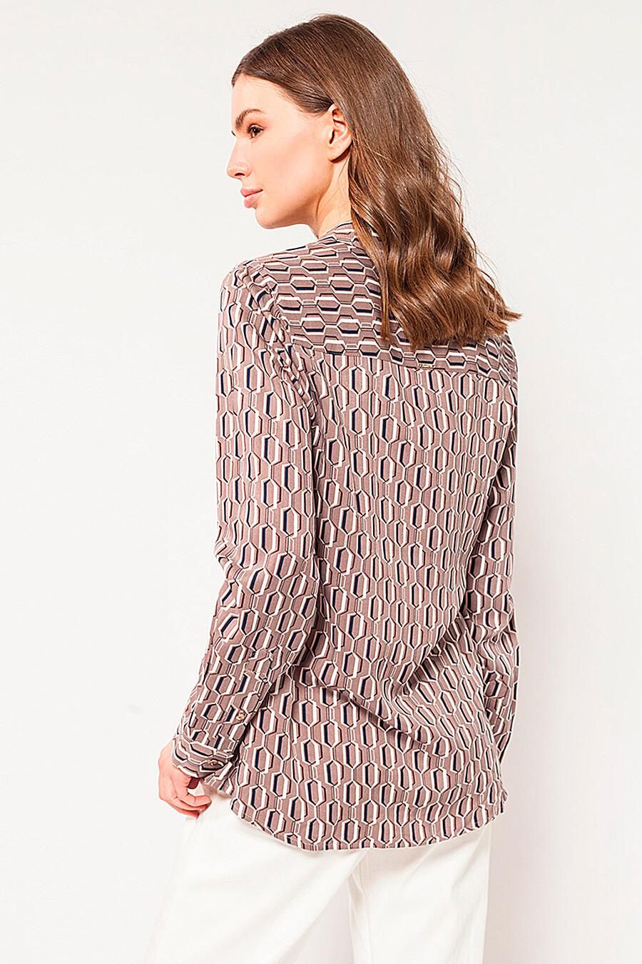 Блуза для женщин VILATTE 334919 купить оптом от производителя. Совместная покупка женской одежды в OptMoyo