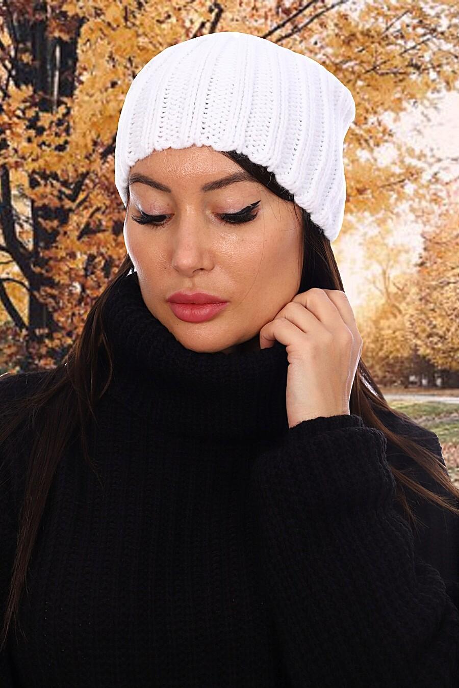 Шапка 6528 для женщин НАТАЛИ 348422 купить оптом от производителя. Совместная покупка женской одежды в OptMoyo