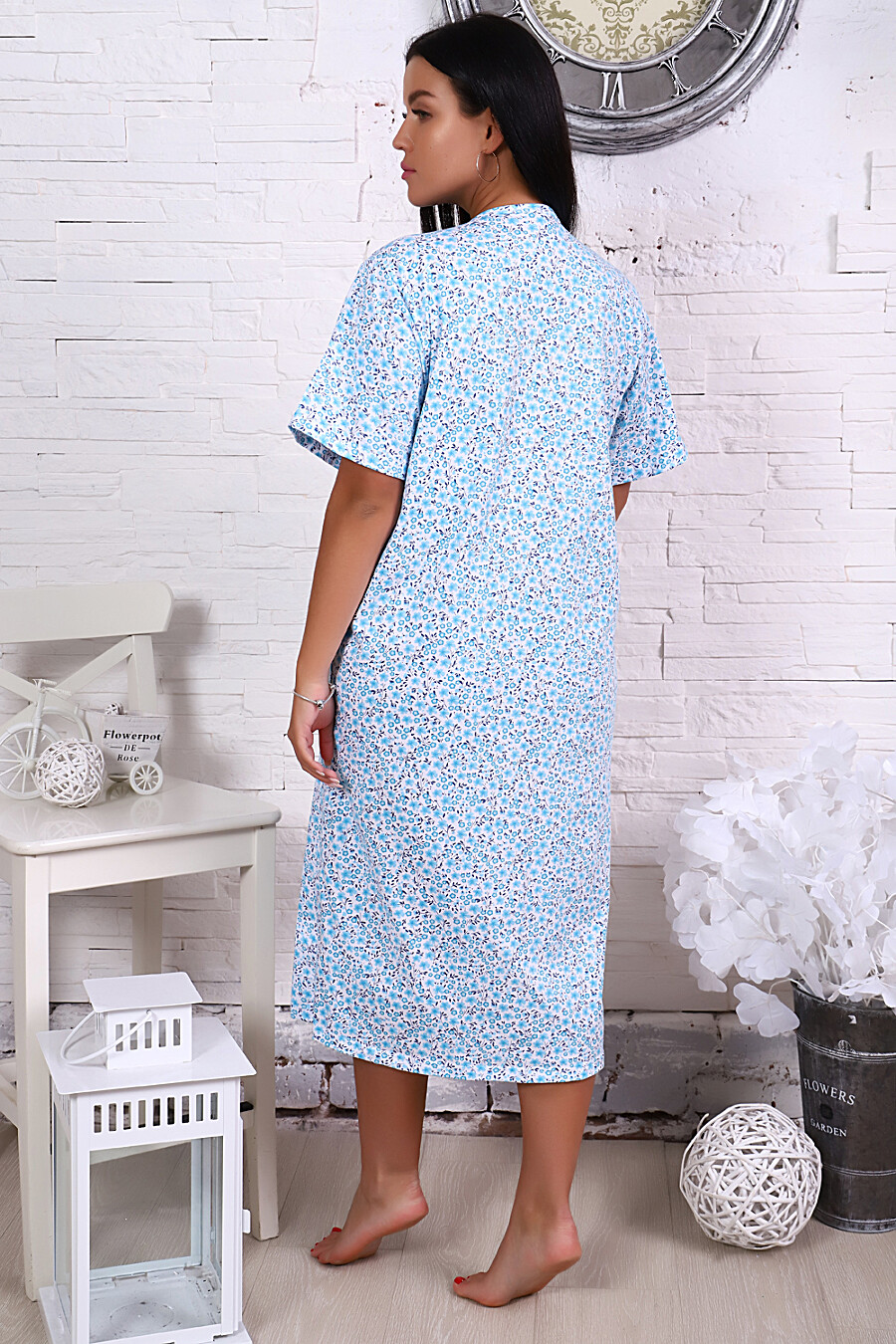 Сорочка 15525 для женщин НАТАЛИ 649337 купить оптом от производителя. Совместная покупка женской одежды в OptMoyo