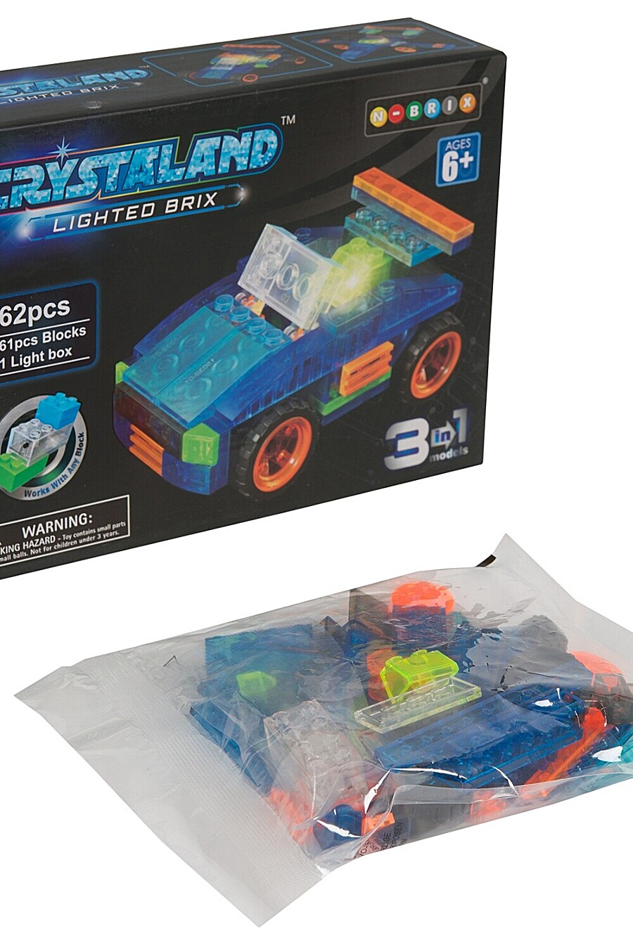 Конструктор для детей BONNA 655263 купить оптом от производителя. Совместная покупка игрушек в OptMoyo