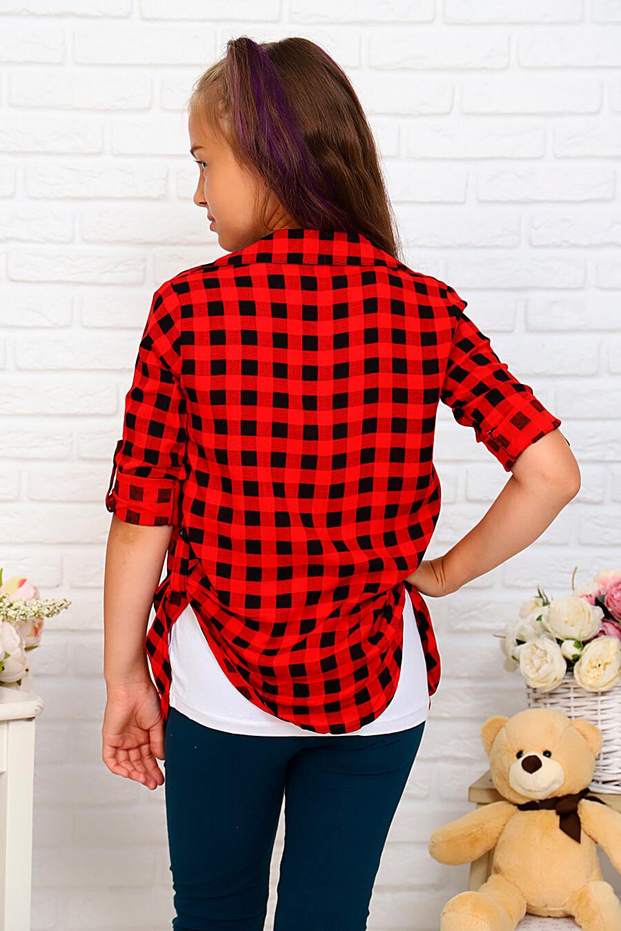 Комплект(Рубашка+майка) для девочек SOFIYA37 667892 купить оптом от производителя. Совместная покупка детской одежды в OptMoyo