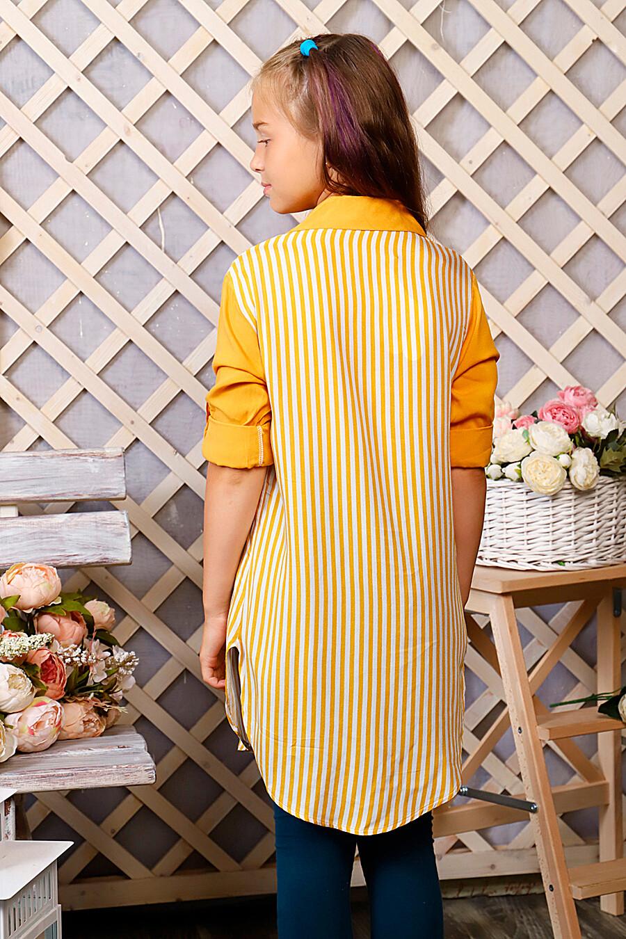 Туника-рубашка для девочек SOFIYA37 667925 купить оптом от производителя. Совместная покупка детской одежды в OptMoyo