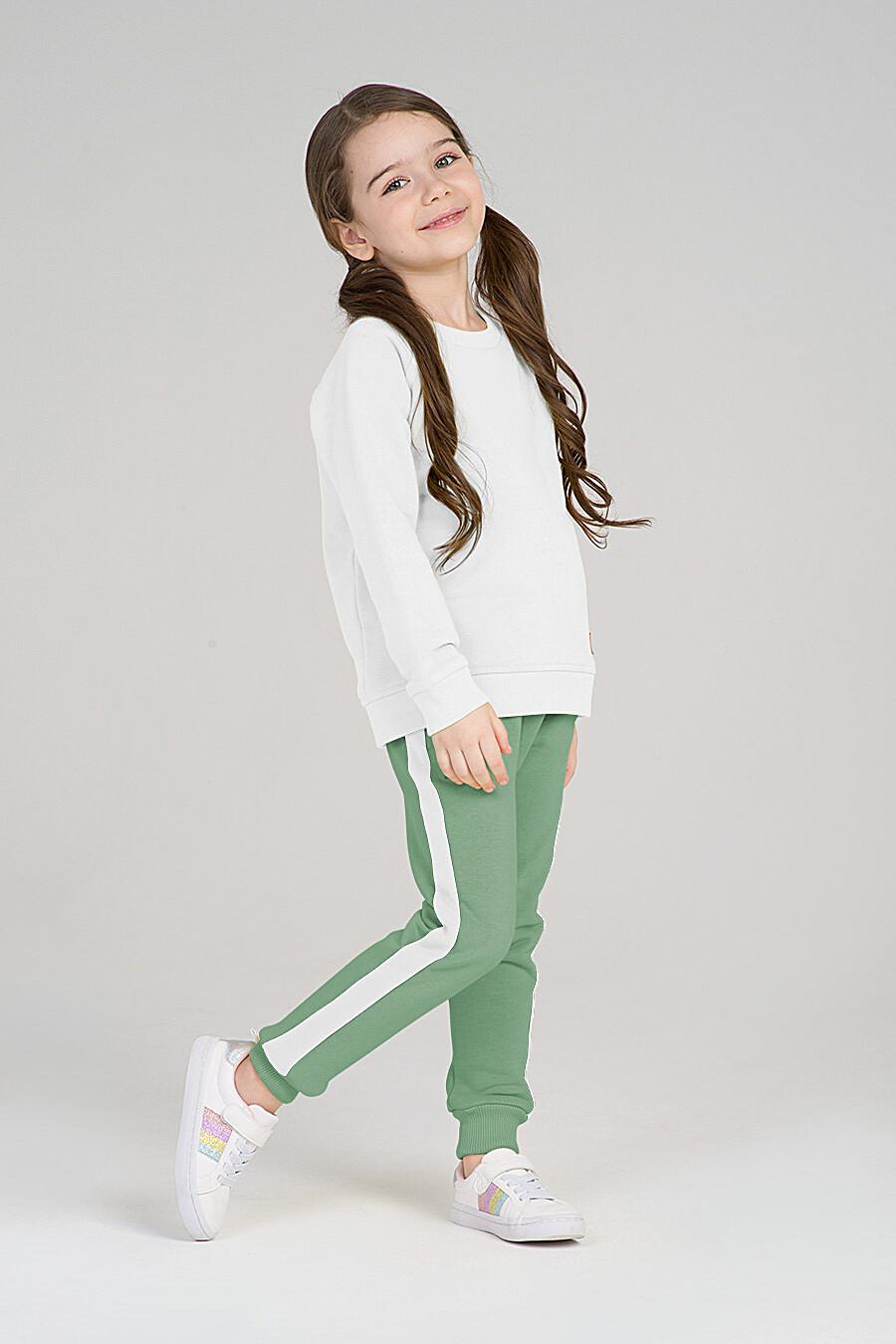 Свитшот для девочек EZANNA 668003 купить оптом от производителя. Совместная покупка детской одежды в OptMoyo