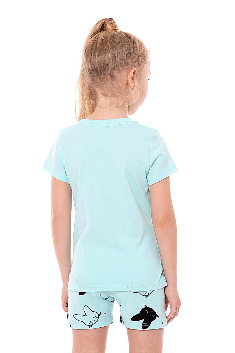 Костюм (Шорты+Футболка) для девочек ROXY FOXY 668037 купить оптом от производителя. Совместная покупка детской одежды в OptMoyo