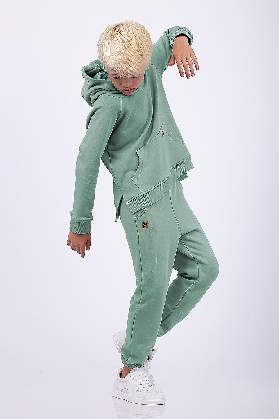 Худи для мальчиков EZANNA 682073 купить оптом от производителя. Совместная покупка детской одежды в OptMoyo