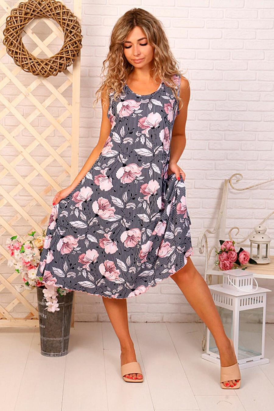 Сарафан для женщин SOFIYA37 682281 купить оптом от производителя. Совместная покупка женской одежды в OptMoyo