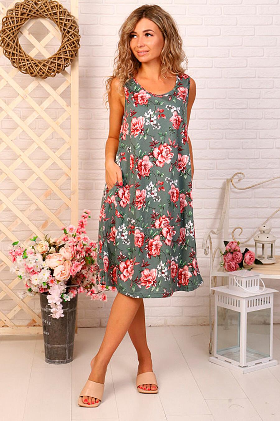 Сарафан для женщин SOFIYA37 682283 купить оптом от производителя. Совместная покупка женской одежды в OptMoyo