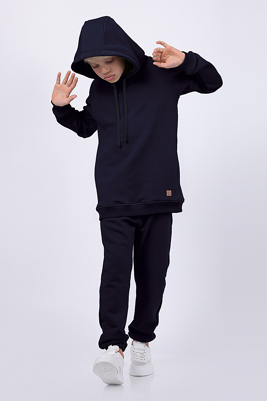 Худи для мальчиков EZANNA 682296 купить оптом от производителя. Совместная покупка детской одежды в OptMoyo