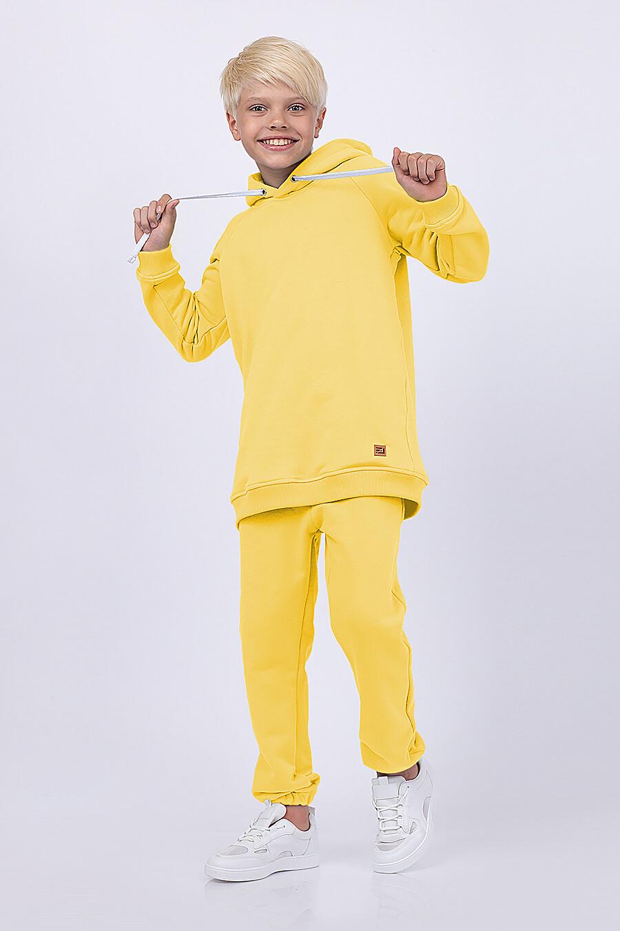Худи для мальчиков EZANNA 682350 купить оптом от производителя. Совместная покупка детской одежды в OptMoyo