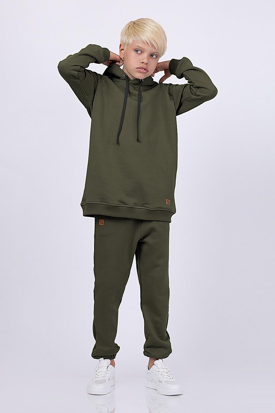 Худи для мальчиков EZANNA 682352 купить оптом от производителя. Совместная покупка детской одежды в OptMoyo