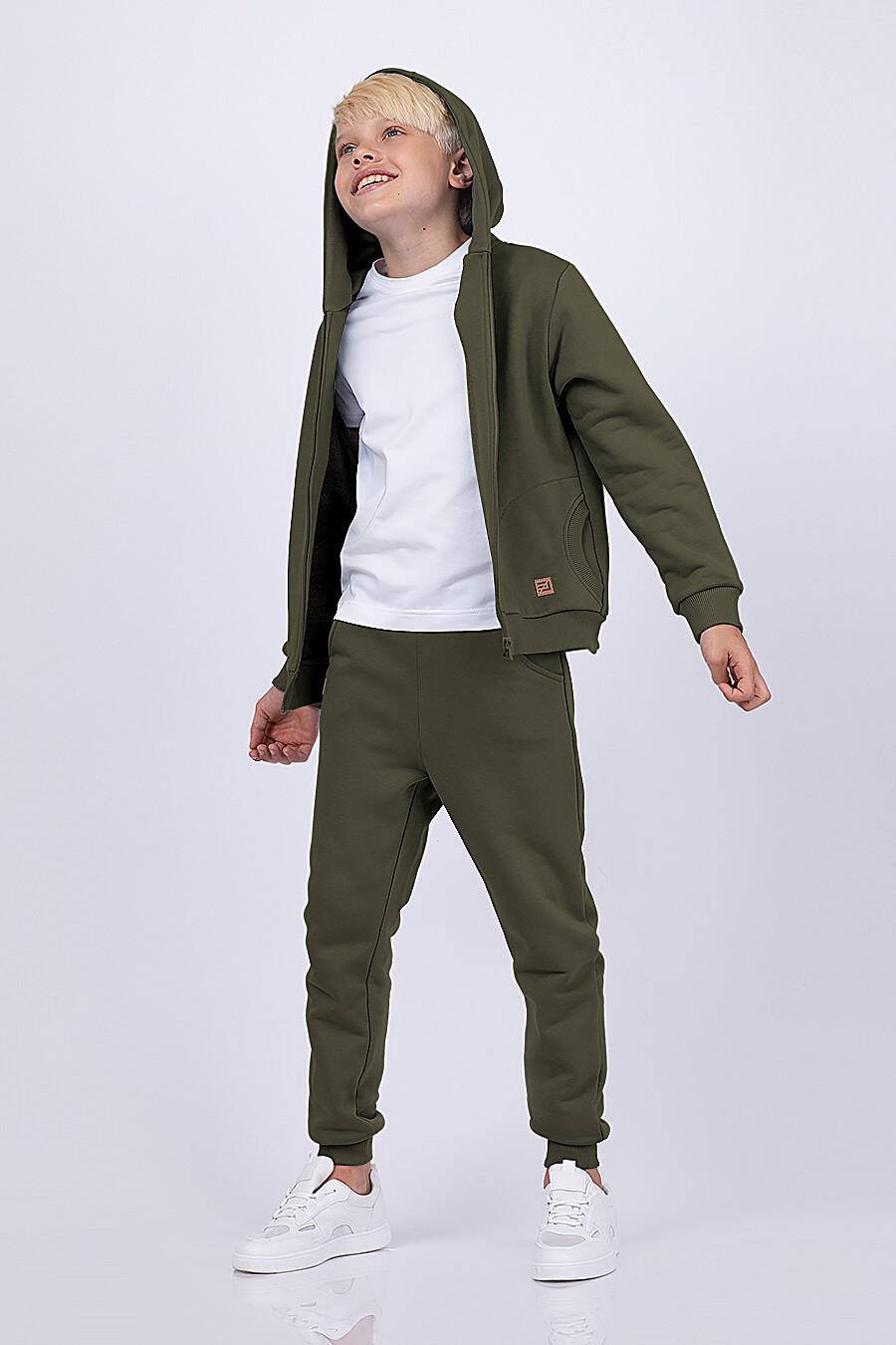 Костюм(Толстовка+Брюки) для мальчиков EZANNA 682382 купить оптом от производителя. Совместная покупка детской одежды в OptMoyo