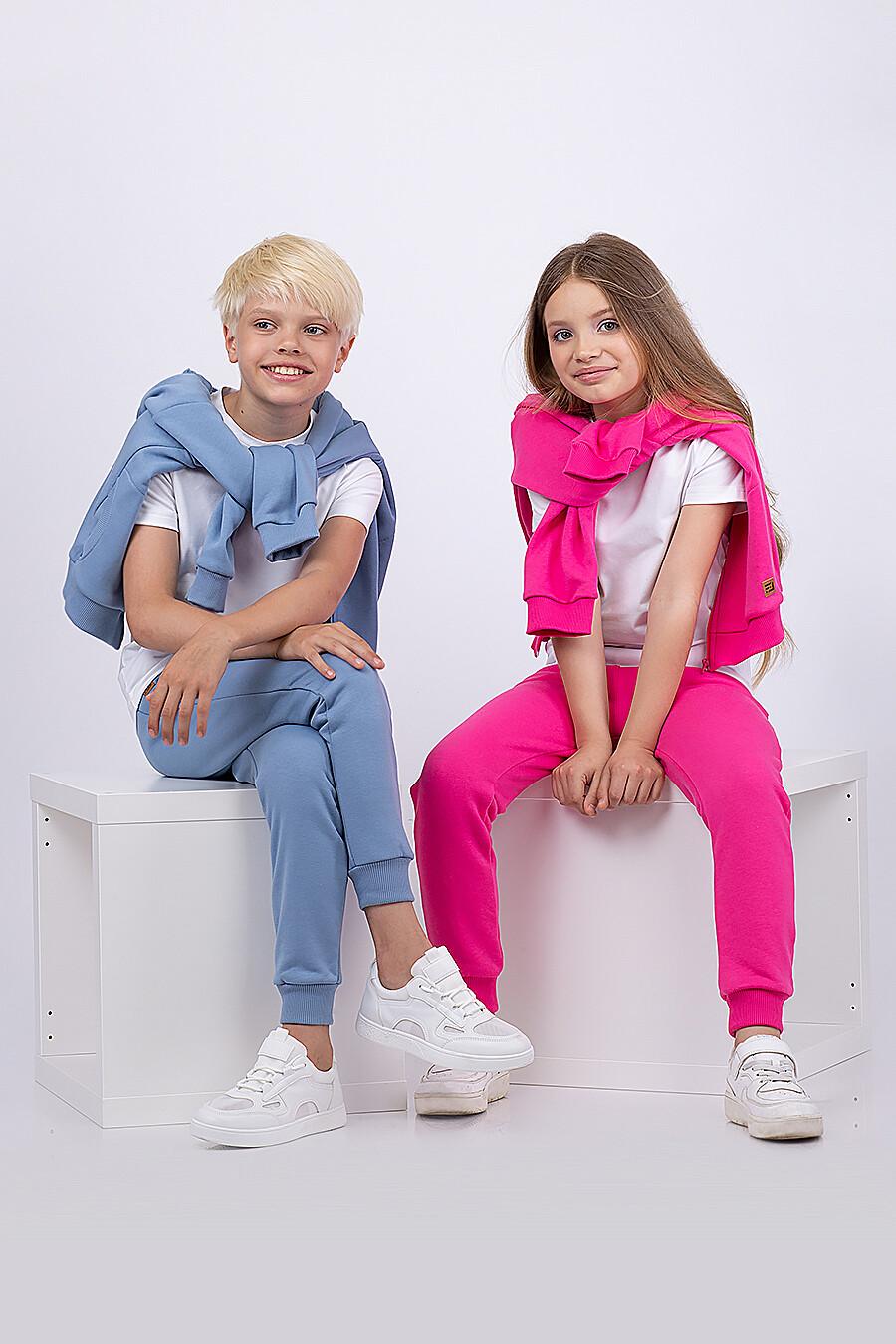 Костюм(Толстовка+Брюки) для девочек EZANNA 682388 купить оптом от производителя. Совместная покупка детской одежды в OptMoyo