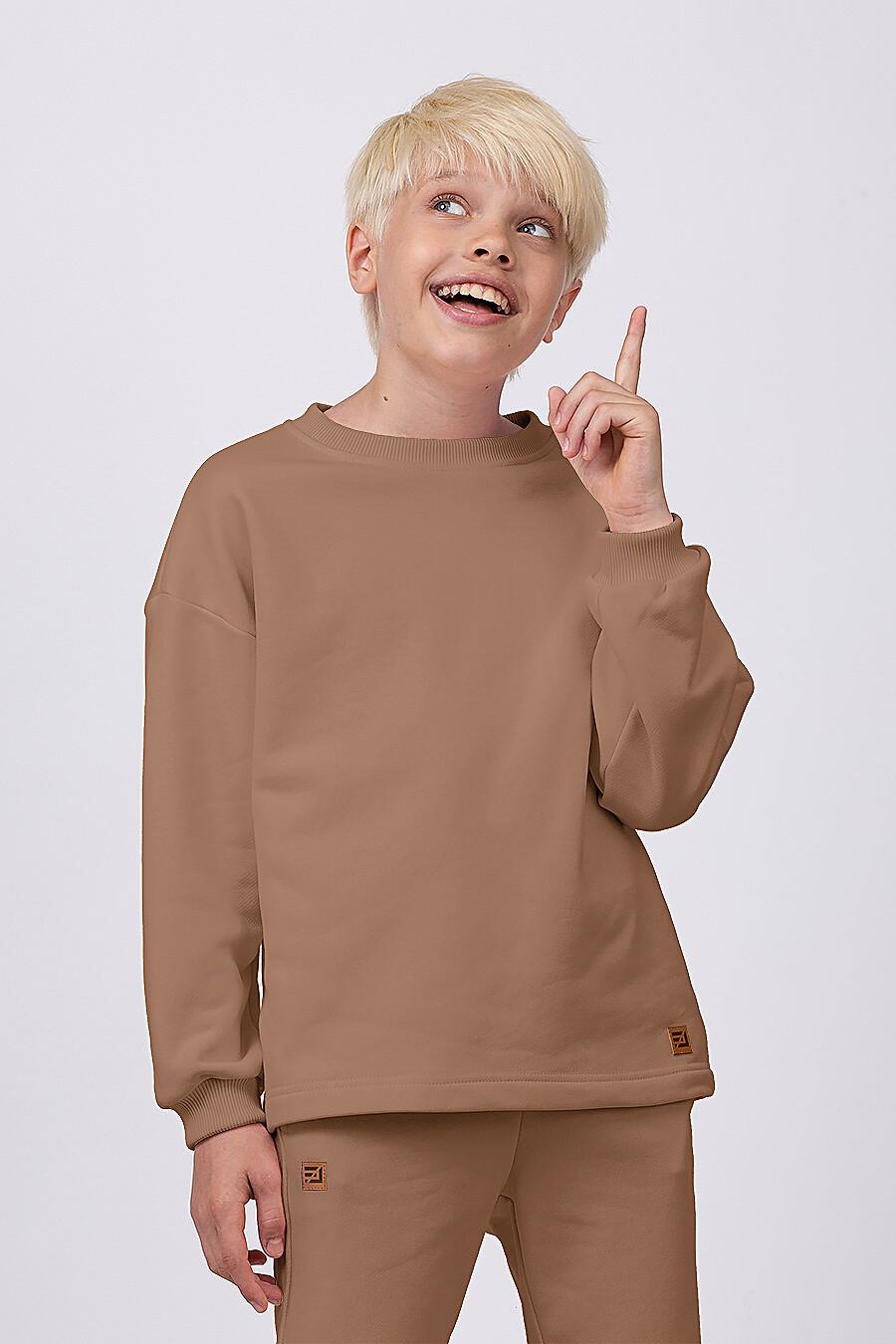 Костюм(Свитшот + Шорты) для мальчиков EZANNA 682402 купить оптом от производителя. Совместная покупка детской одежды в OptMoyo