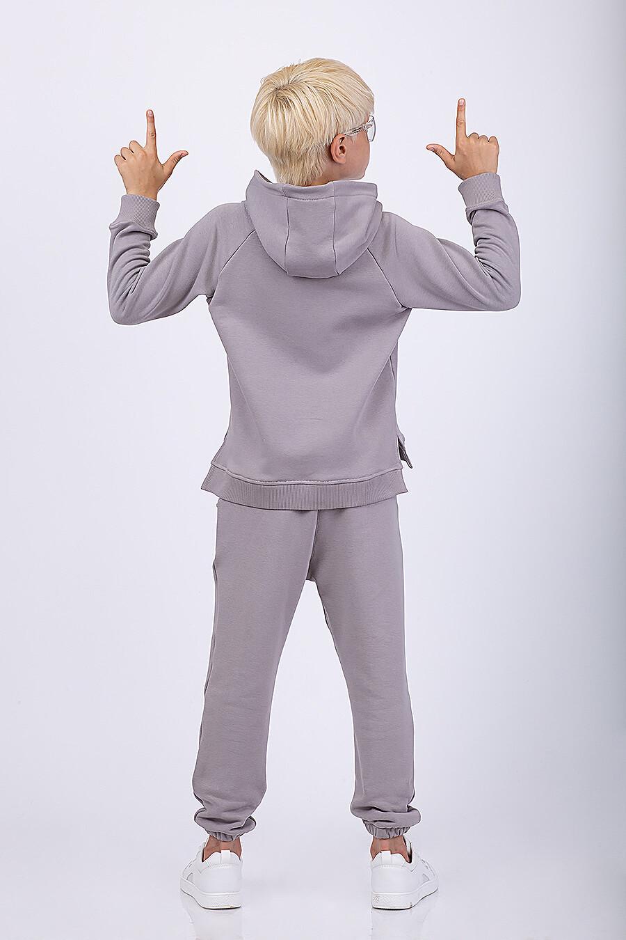 Костюм(Худи+Брюки) для мальчиков EZANNA 682551 купить оптом от производителя. Совместная покупка детской одежды в OptMoyo
