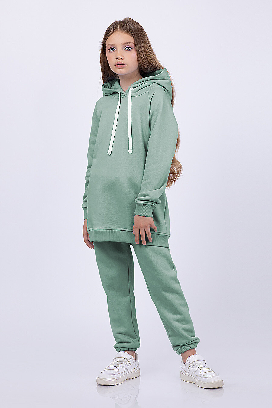 Худи для девочек EZANNA 682573 купить оптом от производителя. Совместная покупка детской одежды в OptMoyo