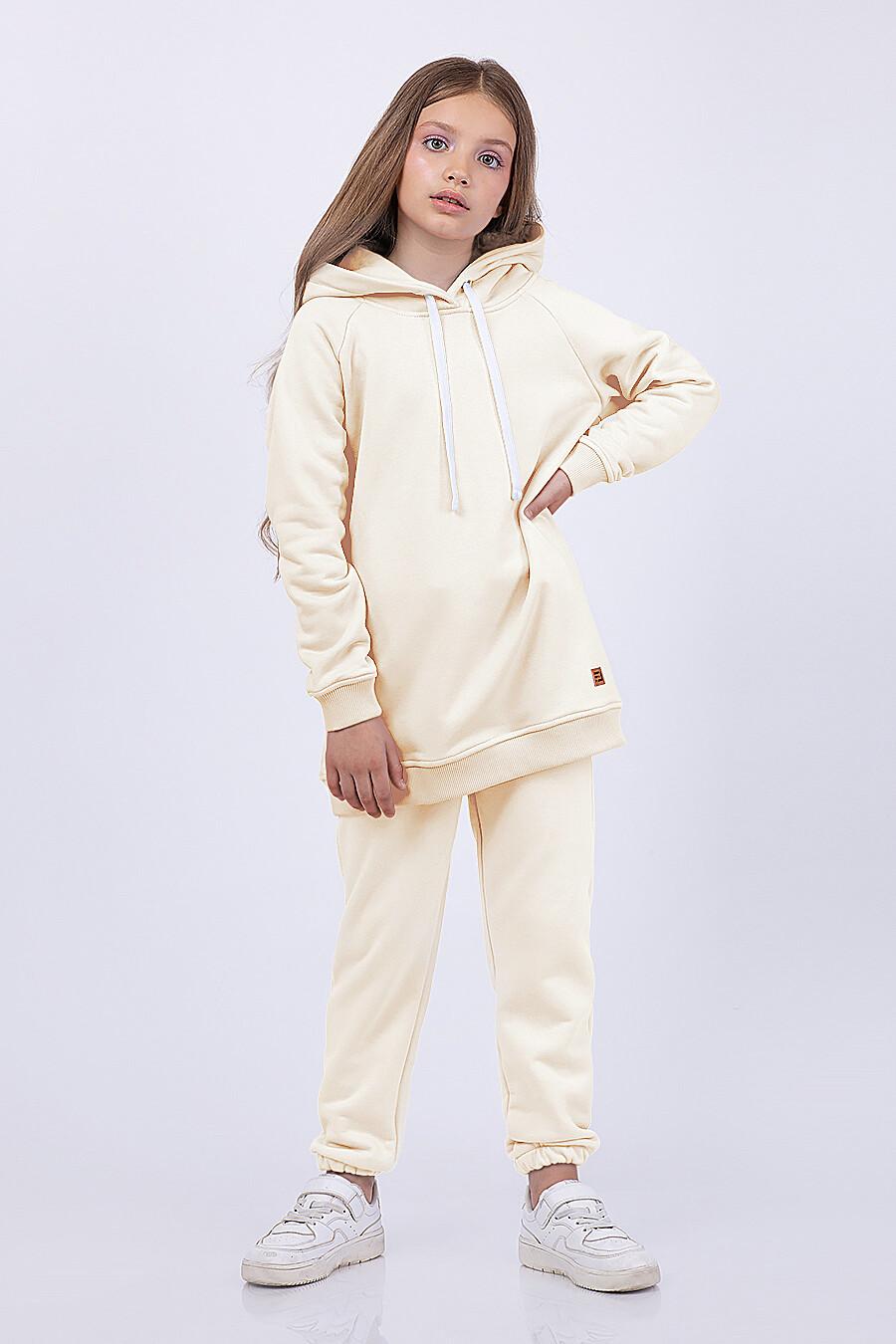 Худи для девочек EZANNA 682631 купить оптом от производителя. Совместная покупка детской одежды в OptMoyo