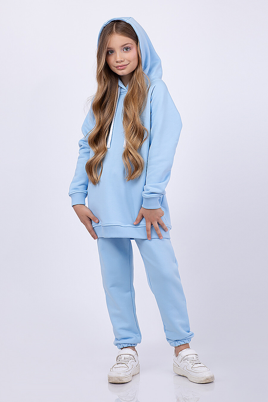 Брюки для девочек EZANNA 682652 купить оптом от производителя. Совместная покупка детской одежды в OptMoyo