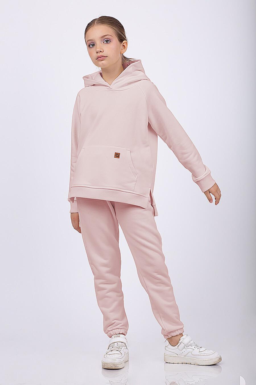 Брюки для девочек EZANNA 682656 купить оптом от производителя. Совместная покупка детской одежды в OptMoyo
