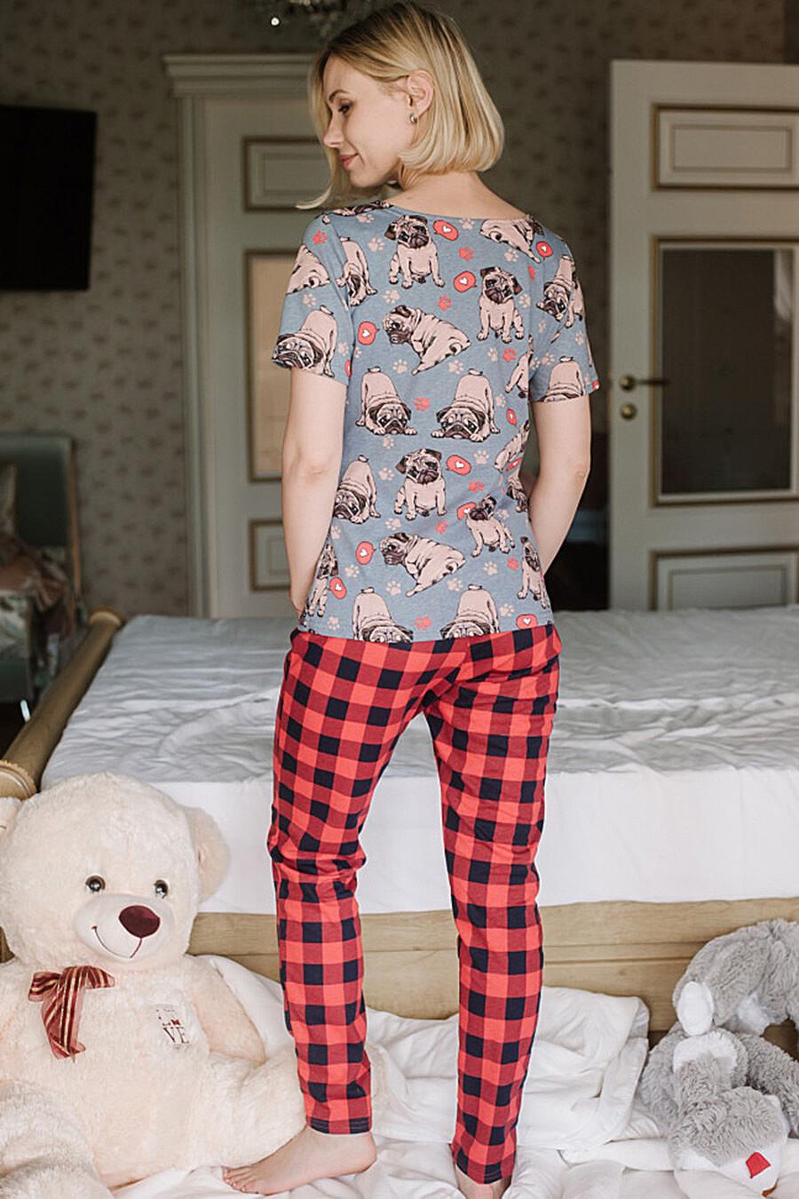 Пижама для женщин ALTEX 682662 купить оптом от производителя. Совместная покупка женской одежды в OptMoyo