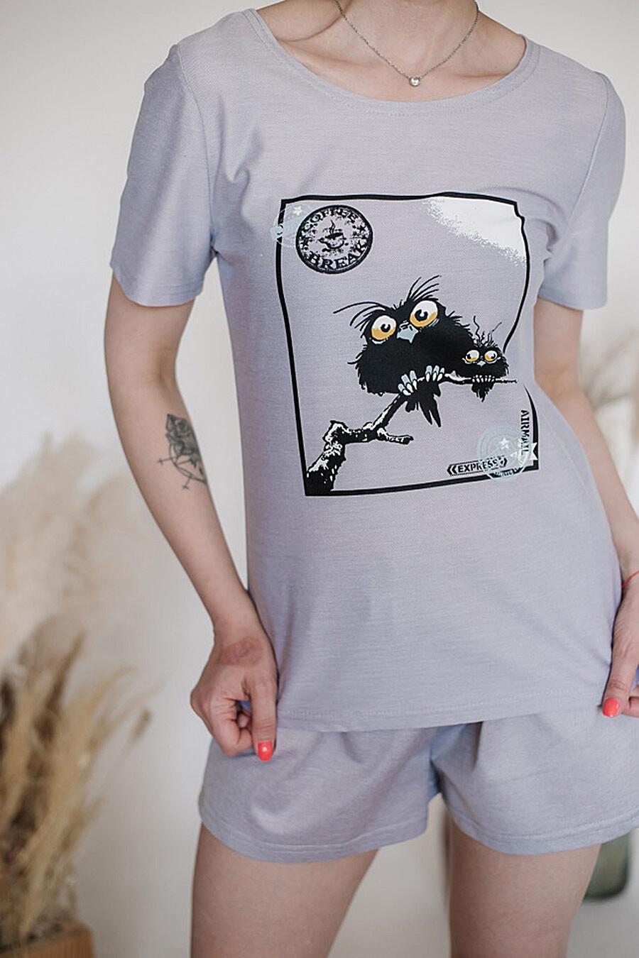 Пижама для женщин ALTEX 682672 купить оптом от производителя. Совместная покупка женской одежды в OptMoyo