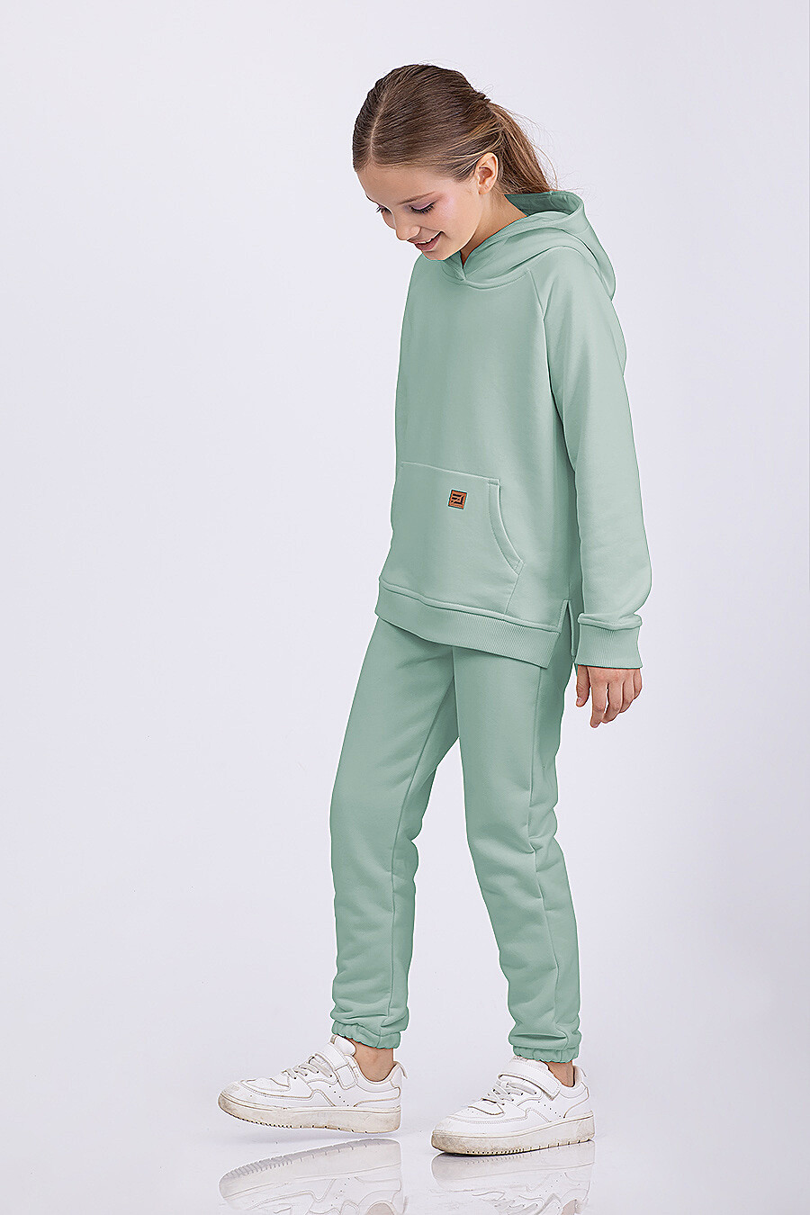 Брюки для девочек EZANNA 682683 купить оптом от производителя. Совместная покупка детской одежды в OptMoyo