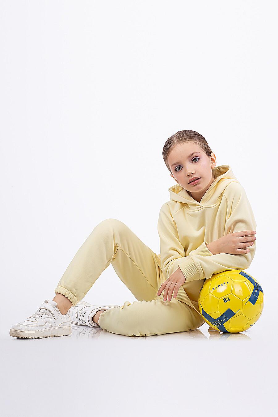 Брюки для девочек EZANNA 682684 купить оптом от производителя. Совместная покупка детской одежды в OptMoyo