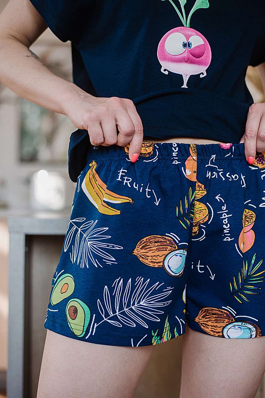 Пижама для женщин ALTEX 682693 купить оптом от производителя. Совместная покупка женской одежды в OptMoyo