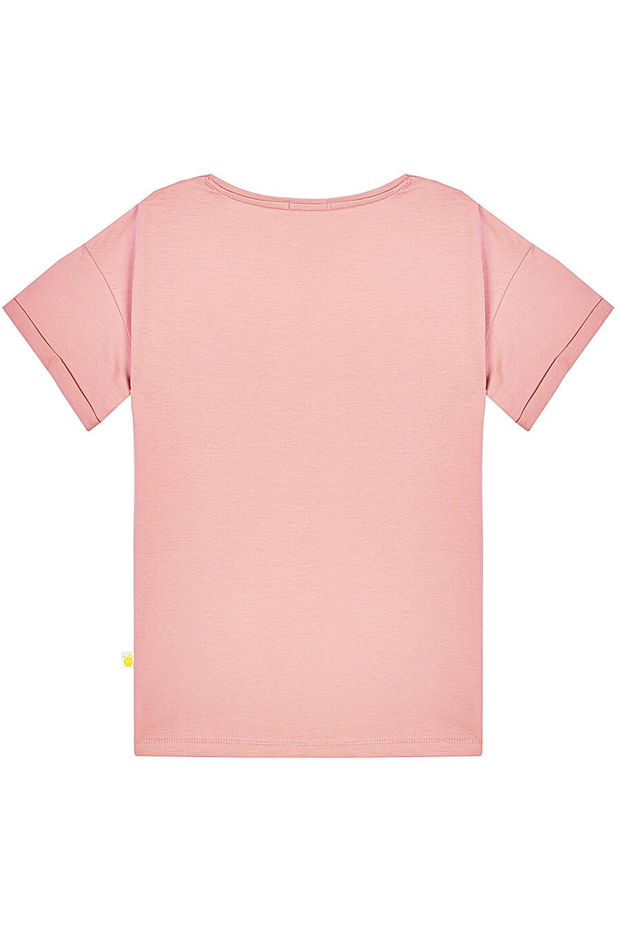 Футболка для девочек KOGANKIDS 682750 купить оптом от производителя. Совместная покупка детской одежды в OptMoyo