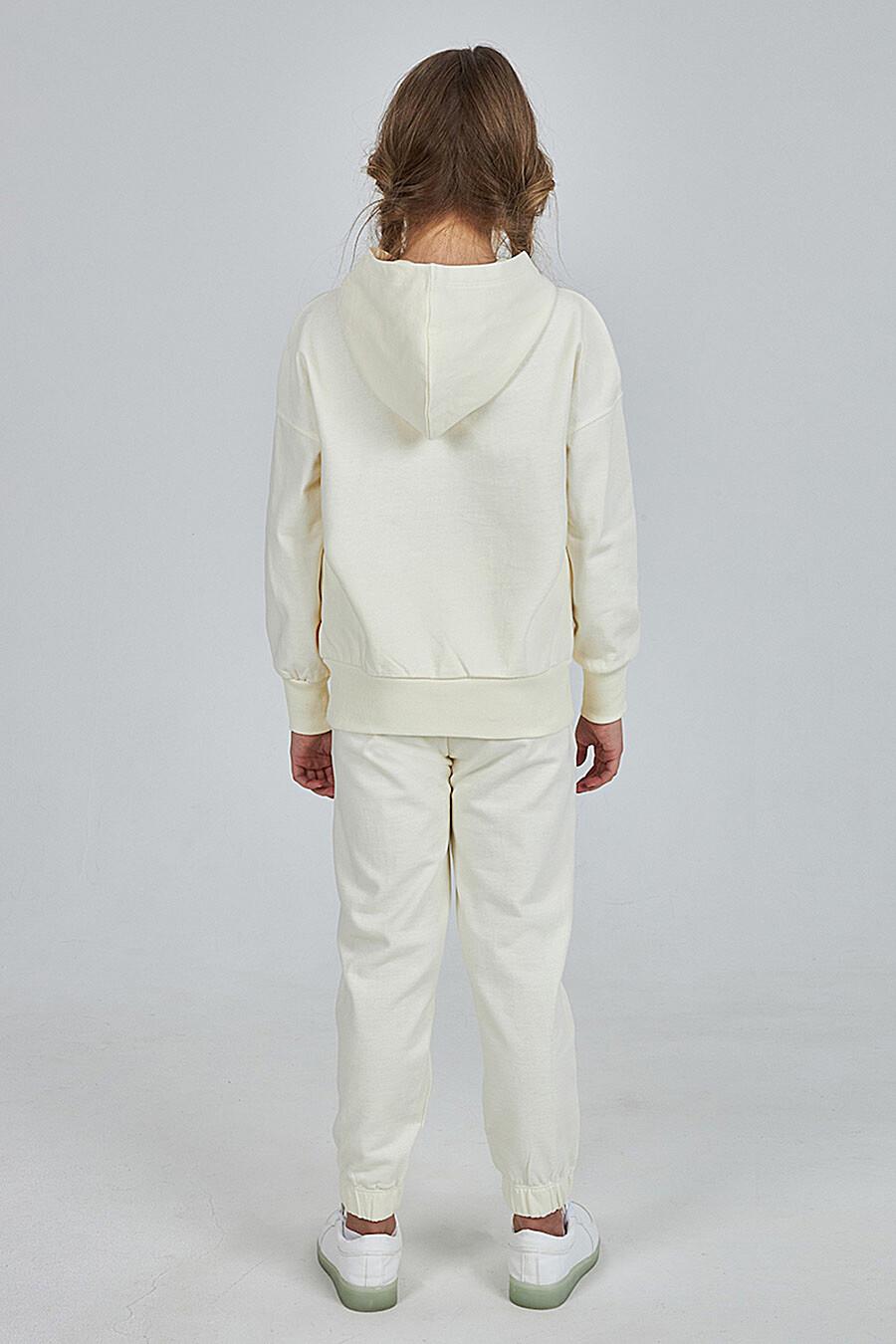 Костюм (Брюки+Худи) для девочек KOGANKIDS 682752 купить оптом от производителя. Совместная покупка детской одежды в OptMoyo