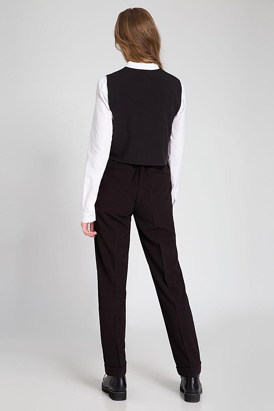 Жилет для девочек PANDA 682814 купить оптом от производителя. Совместная покупка детской одежды в OptMoyo