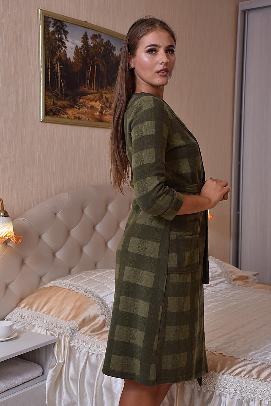 Халат 3651 для женщин НАТАЛИ 683244 купить оптом от производителя. Совместная покупка женской одежды в OptMoyo