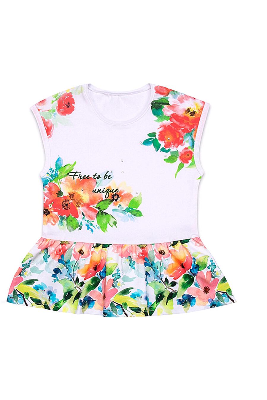 Туника  для девочек АПРЕЛЬ 699967 купить оптом от производителя. Совместная покупка детской одежды в OptMoyo