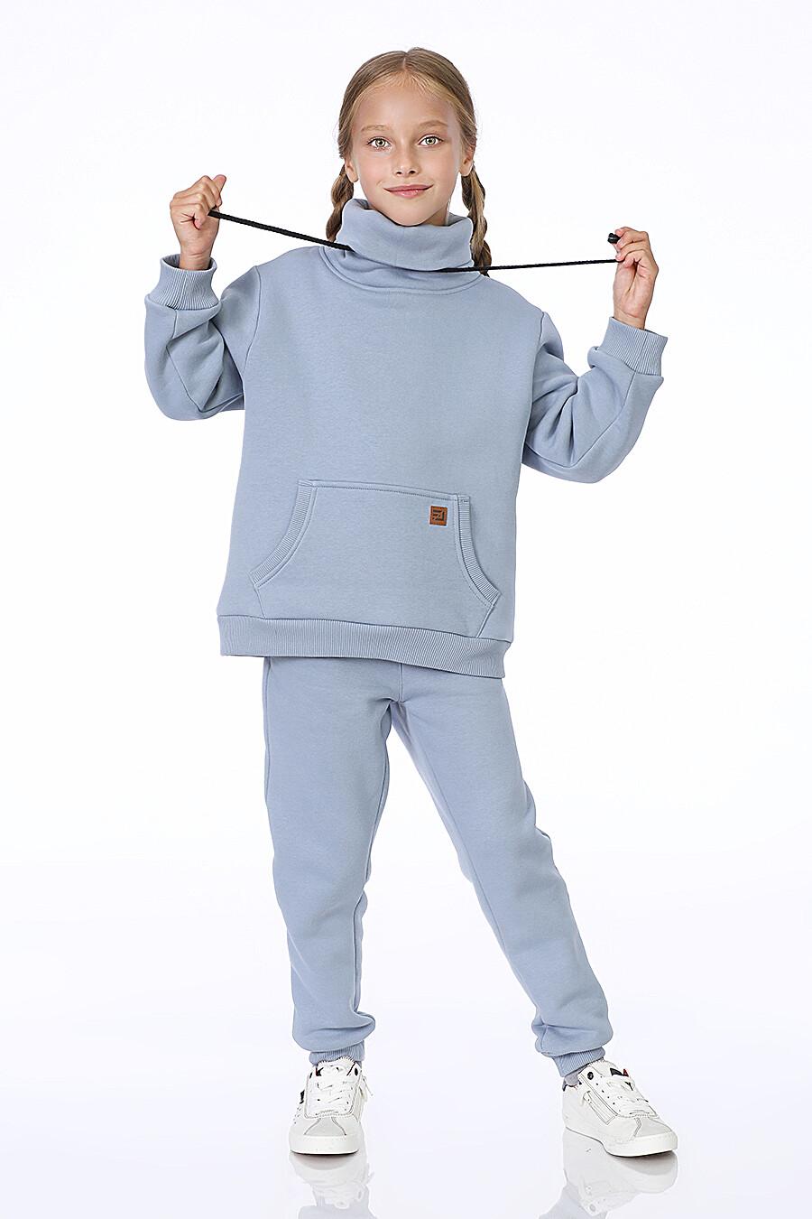 Худи для девочек EZANNA 699984 купить оптом от производителя. Совместная покупка детской одежды в OptMoyo