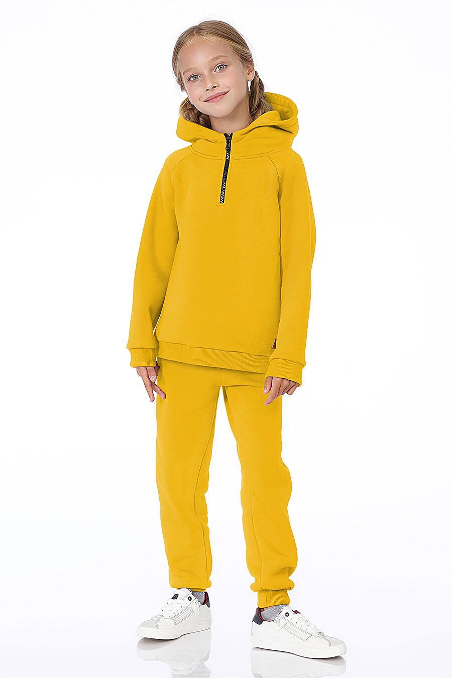 Худи для девочек EZANNA 700221 купить оптом от производителя. Совместная покупка детской одежды в OptMoyo