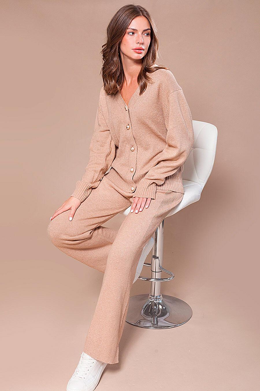 Брюки для женщин VILATTE 700234 купить оптом от производителя. Совместная покупка женской одежды в OptMoyo