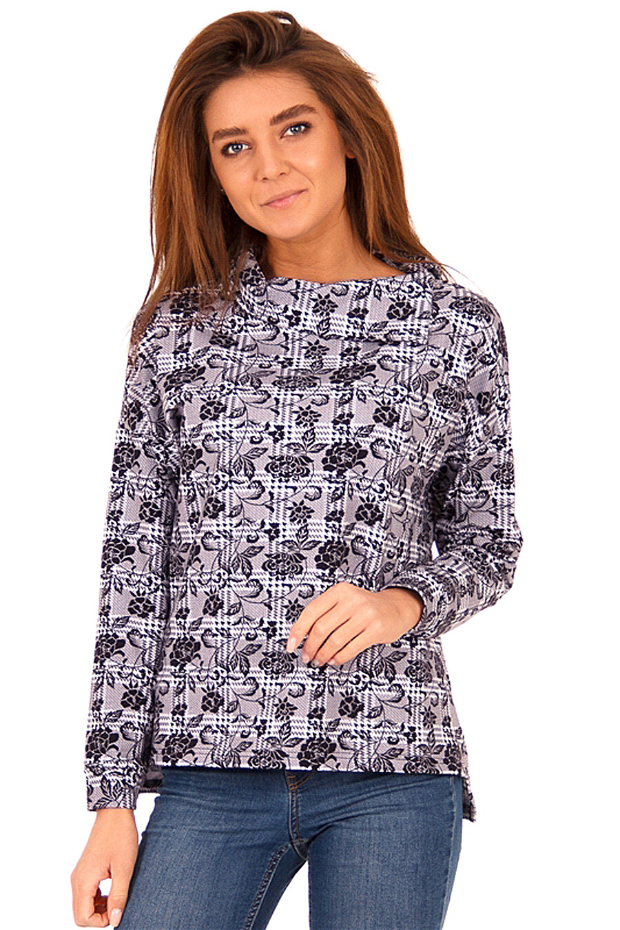 Свитшот  для женщин АПРЕЛЬ 700262 купить оптом от производителя. Совместная покупка женской одежды в OptMoyo