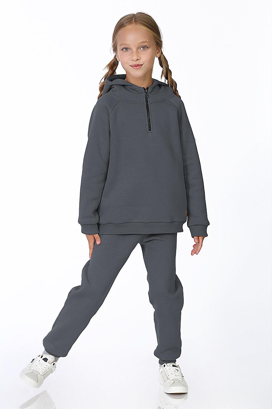 Худи для девочек EZANNA 700301 купить оптом от производителя. Совместная покупка детской одежды в OptMoyo