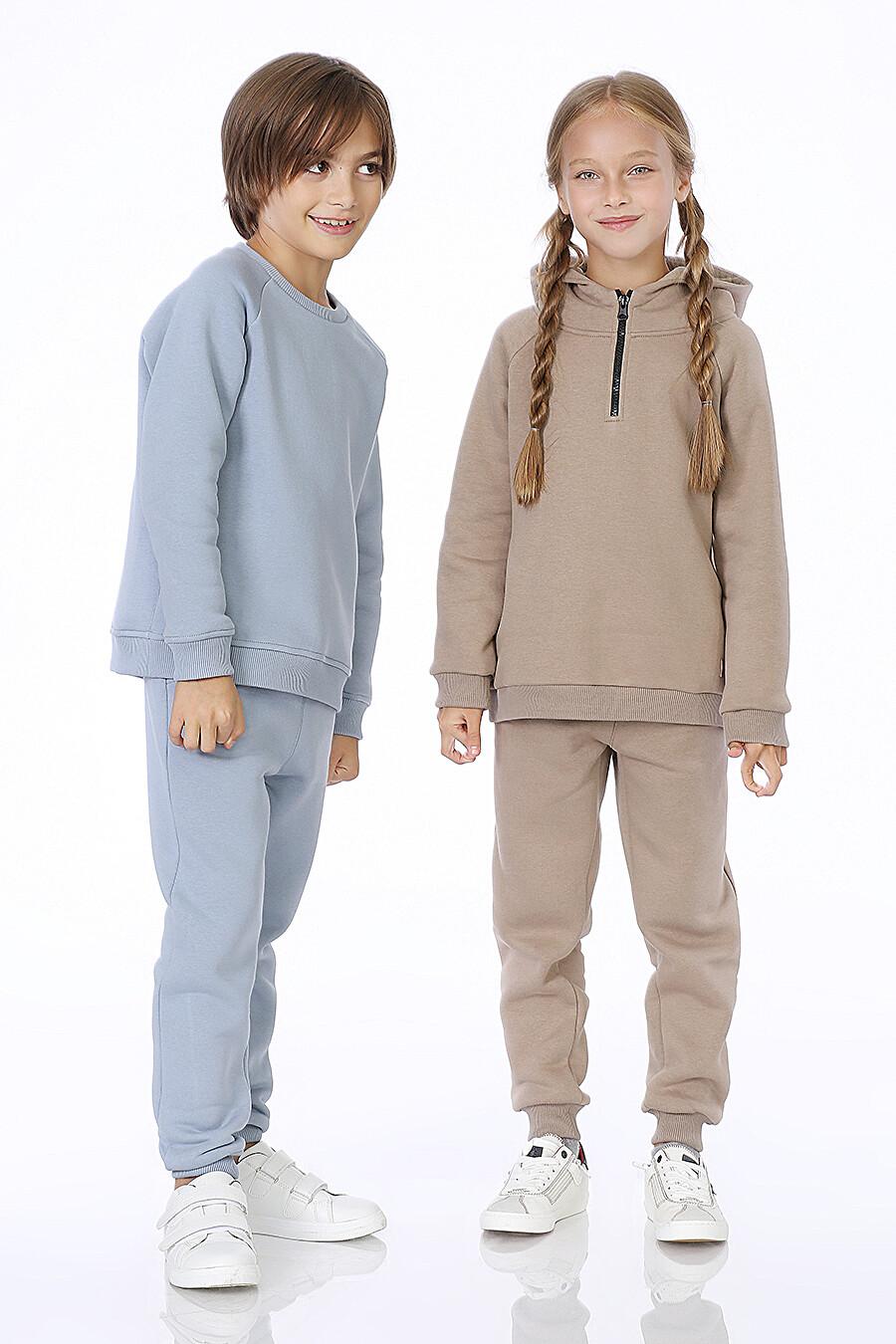 Костюм(Худи+Брюки) для девочек EZANNA 700310 купить оптом от производителя. Совместная покупка детской одежды в OptMoyo